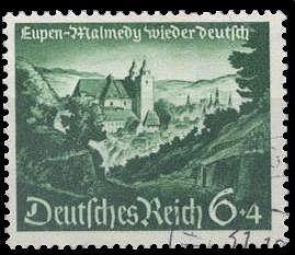 Stamp Eupen-Malmedy, Germany 1940