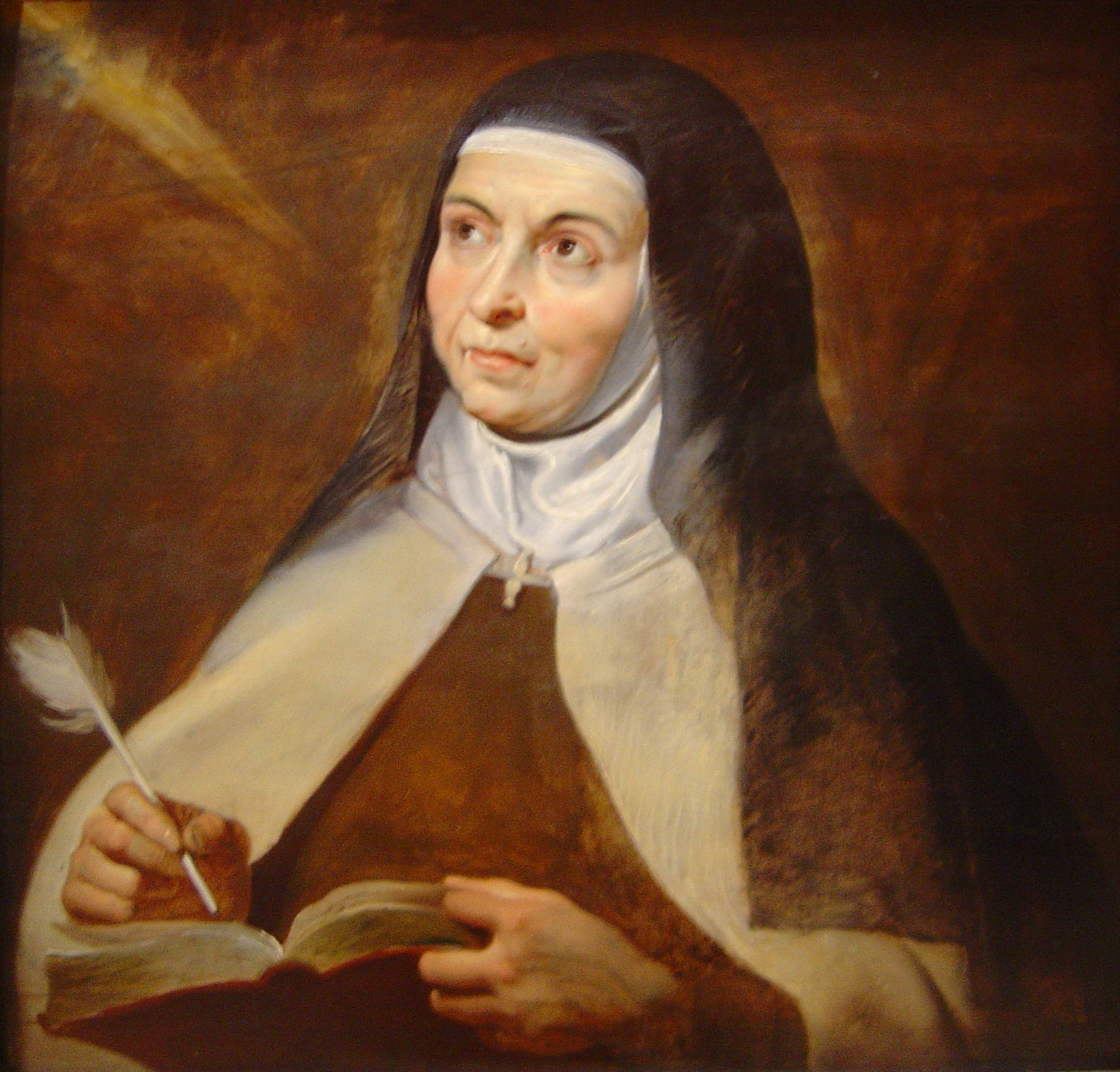 Portrait of St. Terese of Avila, by Peter Paul Ruebens, taken from Wikipedias article on her.