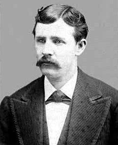 English: Wyatt Earp at about age 25 at about t...