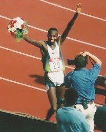 Kenyan-born Wilson Kipketer dominated the 800 ...
