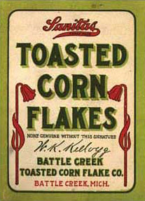 Very First Corn Flakes Package: http://www.kip...