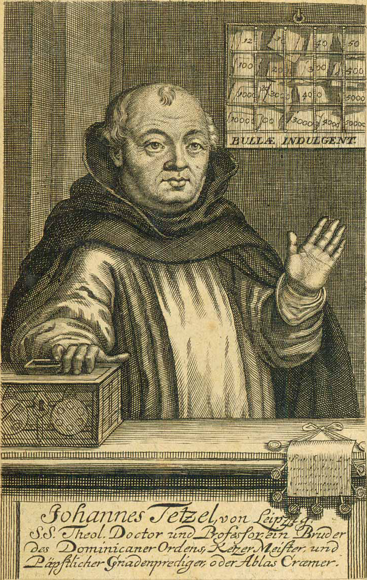 English: Johann Tetzel