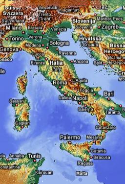CARTE ITALIE R2