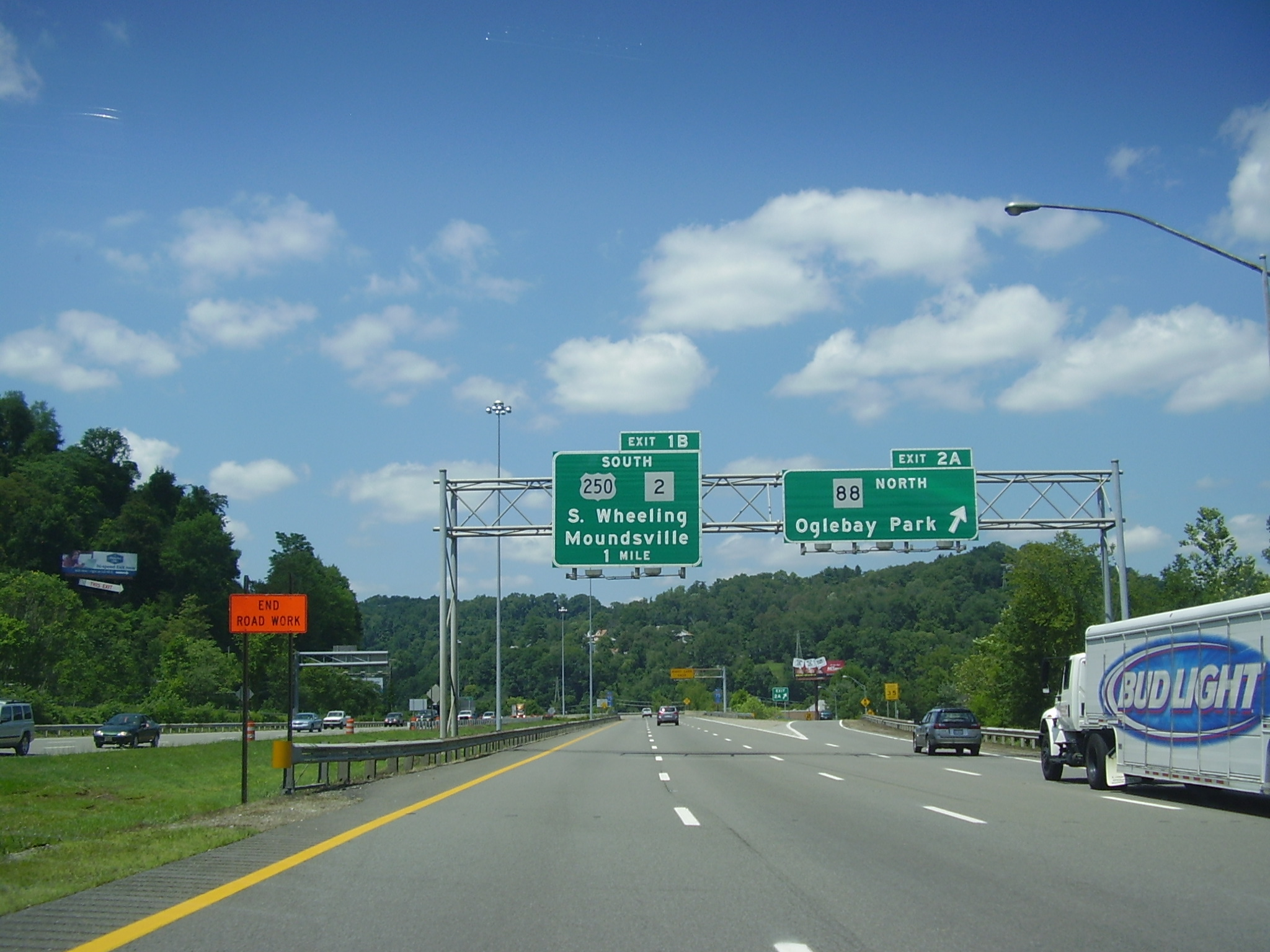 Map Exits I 70 Ohio