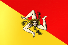 English: Flag of the Sicilian Region Italiano:...