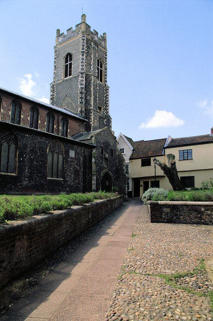 St George S Church Tombland Norwich Wikipedia