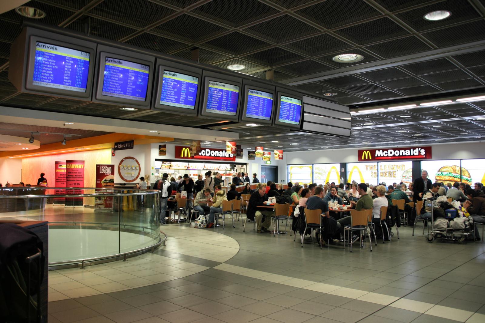 FileDublin Airport McDonalds Restaurantjpg Wikipedia