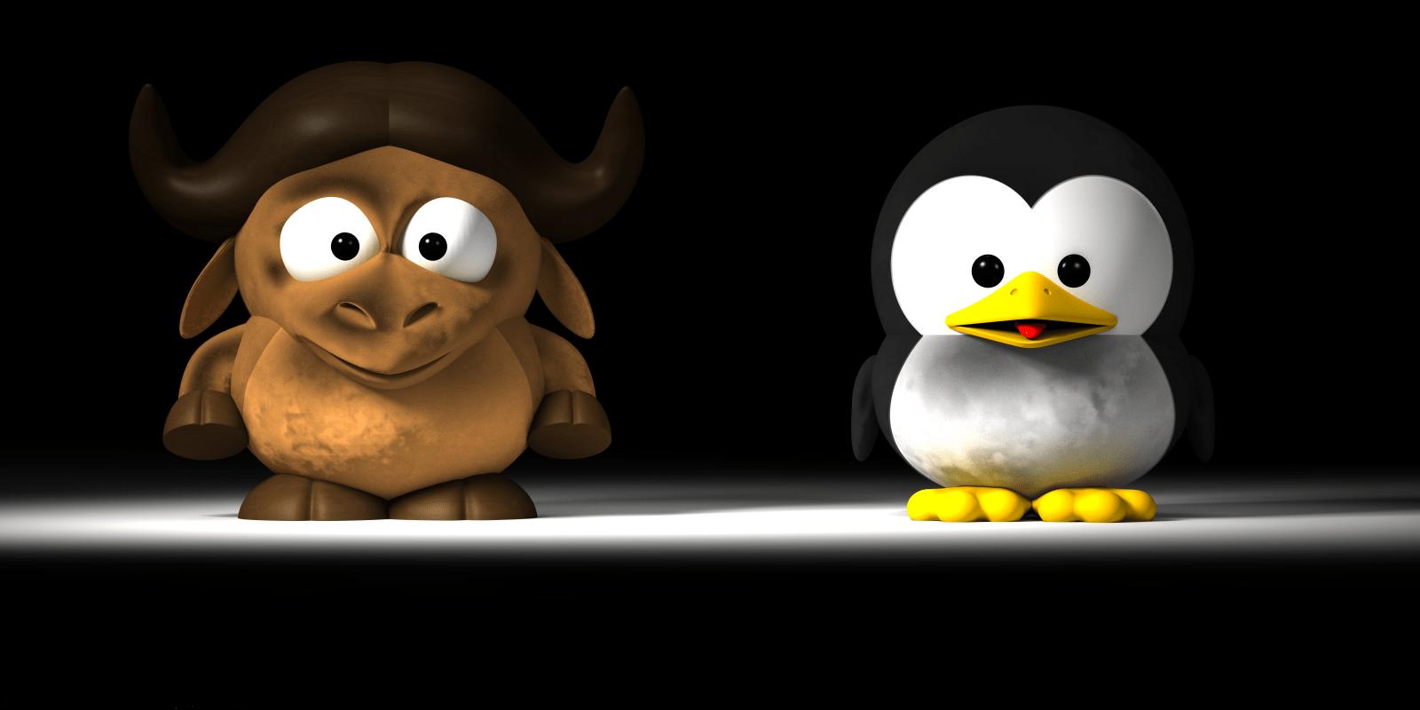 GNU & Tux