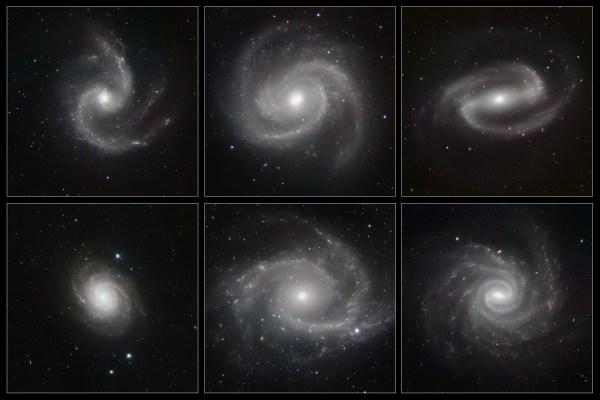 File:Six Spiral Galaxies ESO.jpg - Wikimedia Commons
