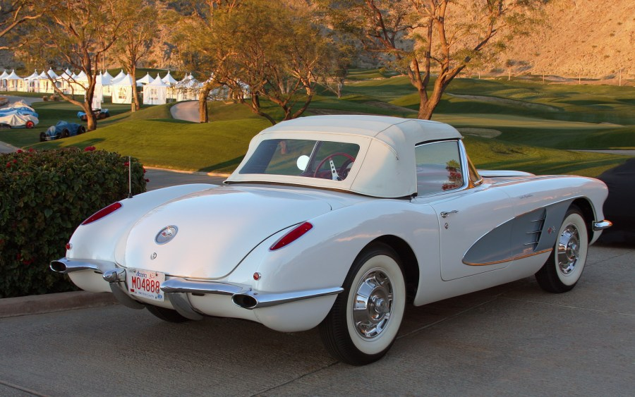 1955 chevrolet cars » Chevrolet Corvette  C1    Wikipedia 1960 rear