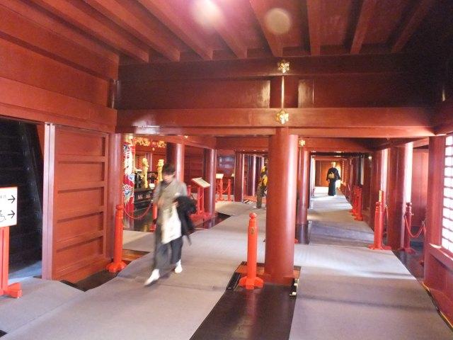 Inside Shuri Castle