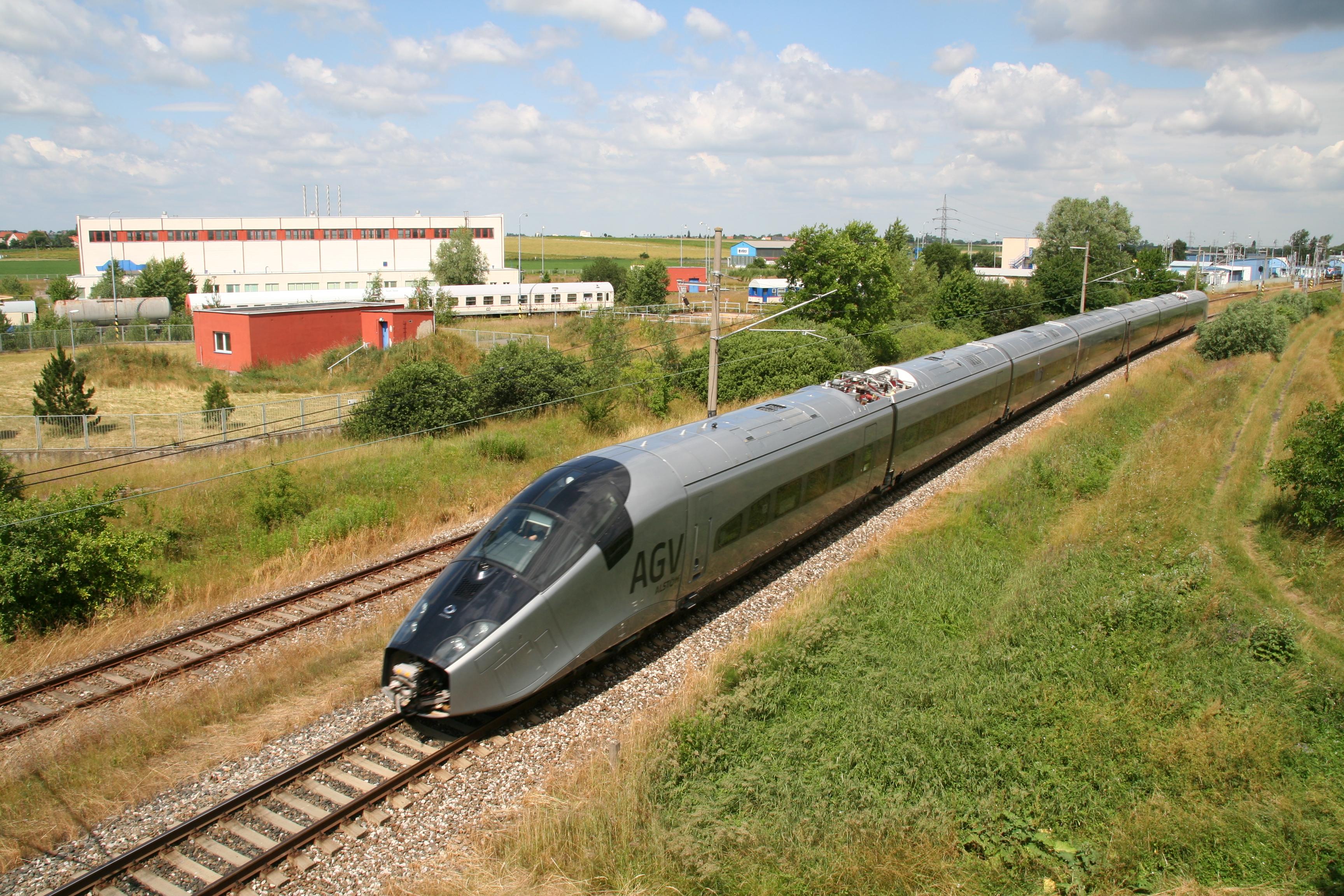 AGV High Speed Rail in the Czech Republic