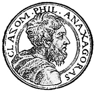 English: Anaxagoras, presocratic philosopher.