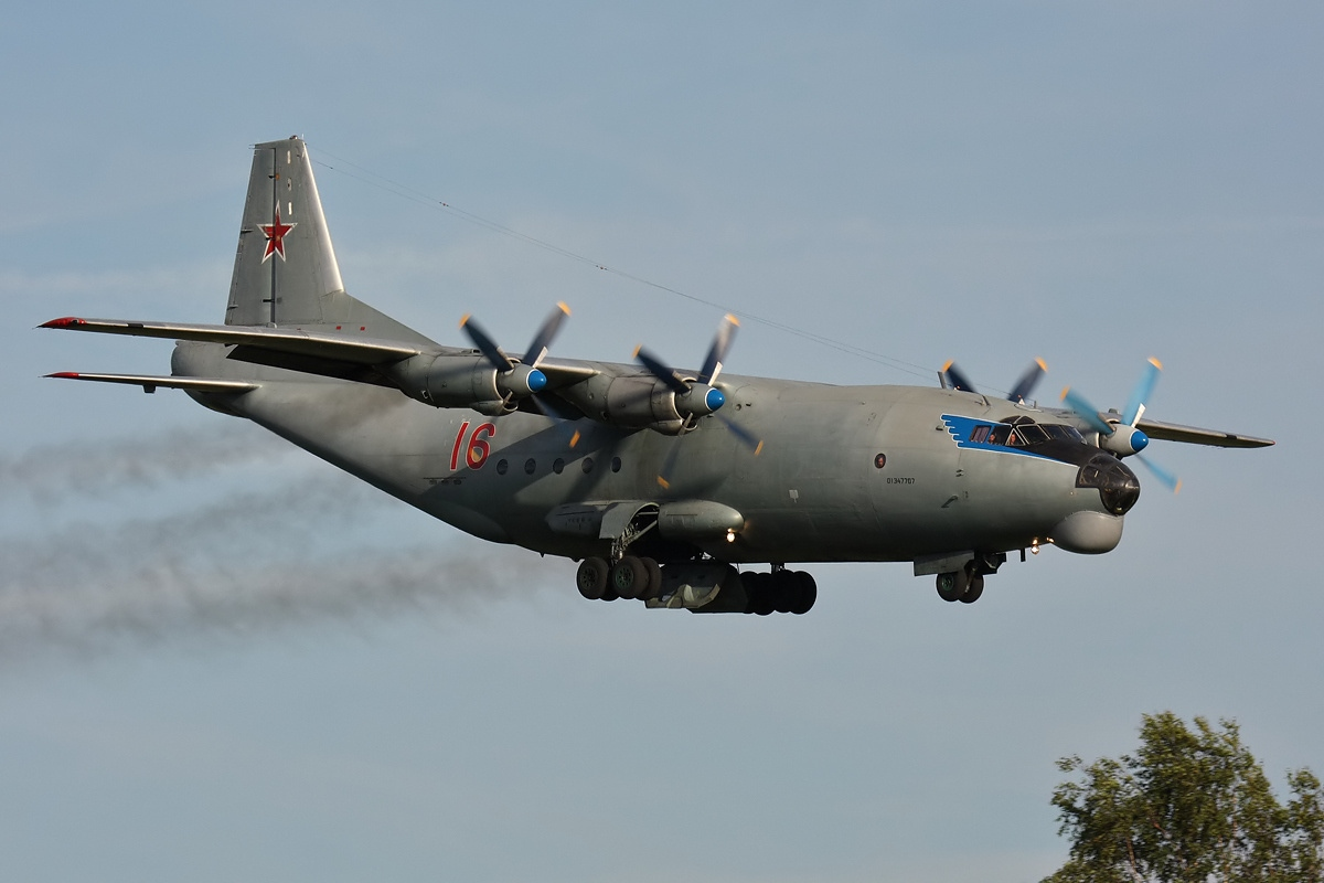 Russian military intervention and aid to Syria #5 - Page 39 Antonov_An-12BK-IS,_Russia_-_Air_Force_AN1551103