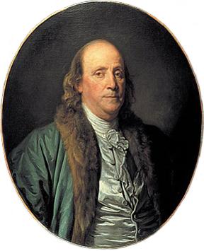 Jean-Baptiste Greuze portrait of Benjamin Fran...