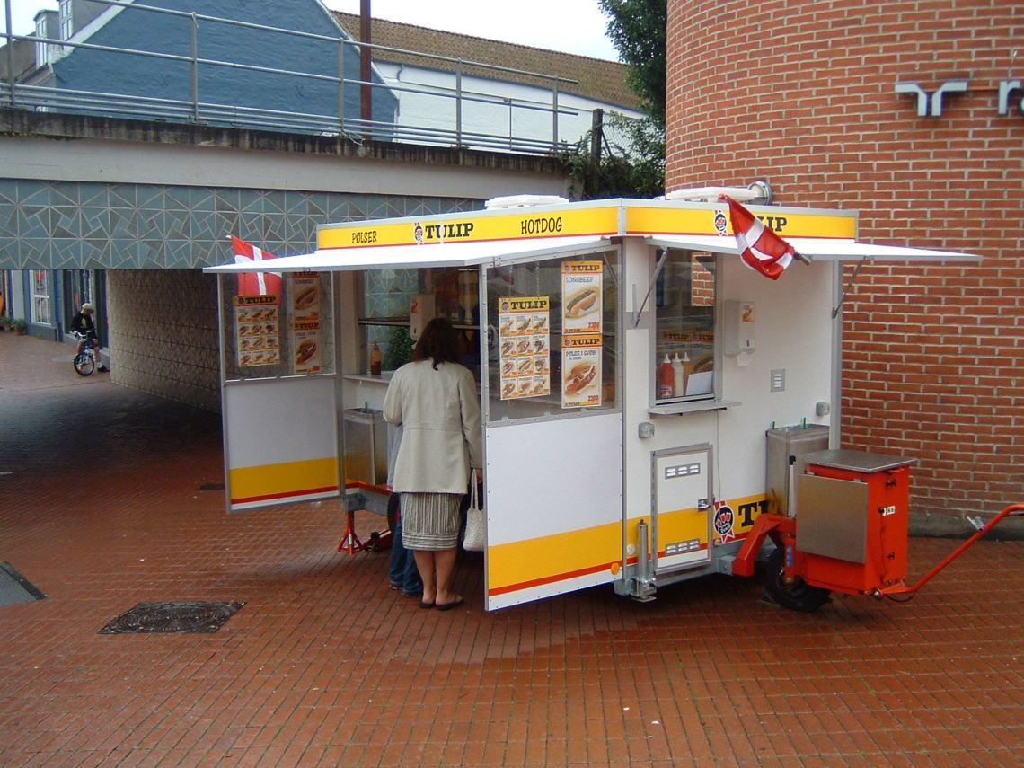 Danish Hot dog stand Homemade Dog Food Recipes For Pitbulls