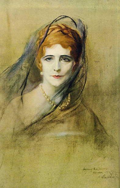 Portrait of Elinor Glyn, 1927