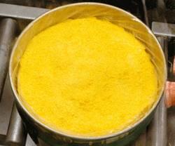 A drum of yellowcake (a mixture of uranium pre...