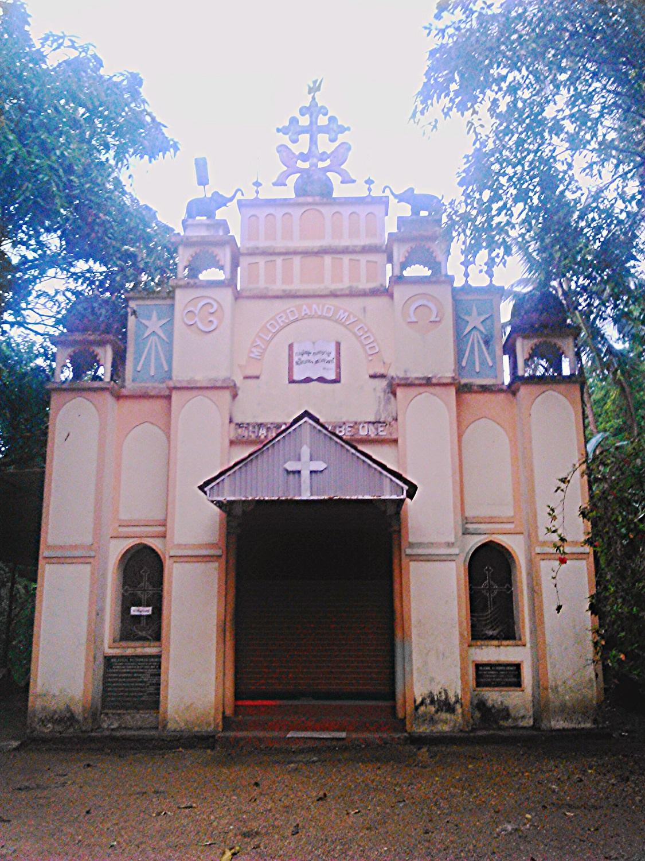 St Thomas Church Angamoozhy Wikipedia