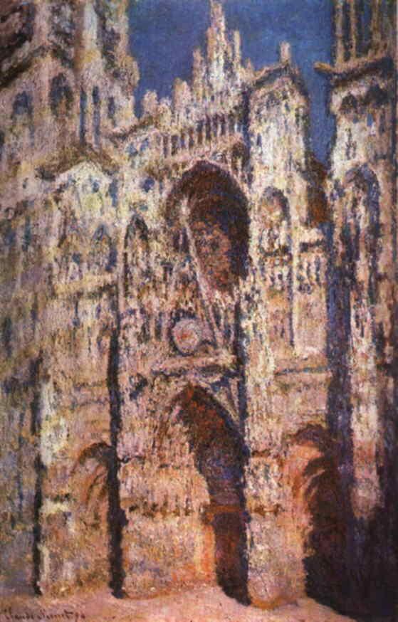 Rouen Cathedral, Claude Monet