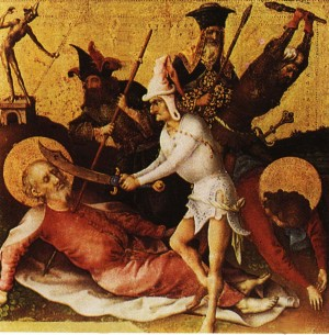 Stefan Lochner, The Martyrdom of the Apostles ...