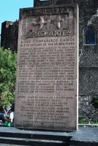 Monumento en Tlaltelolco