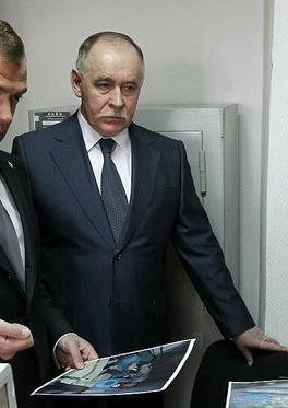 Viktor Ivanov, the head of Russia's Drug Contr...