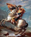 jacque-louis david: napoleon crossing the alps