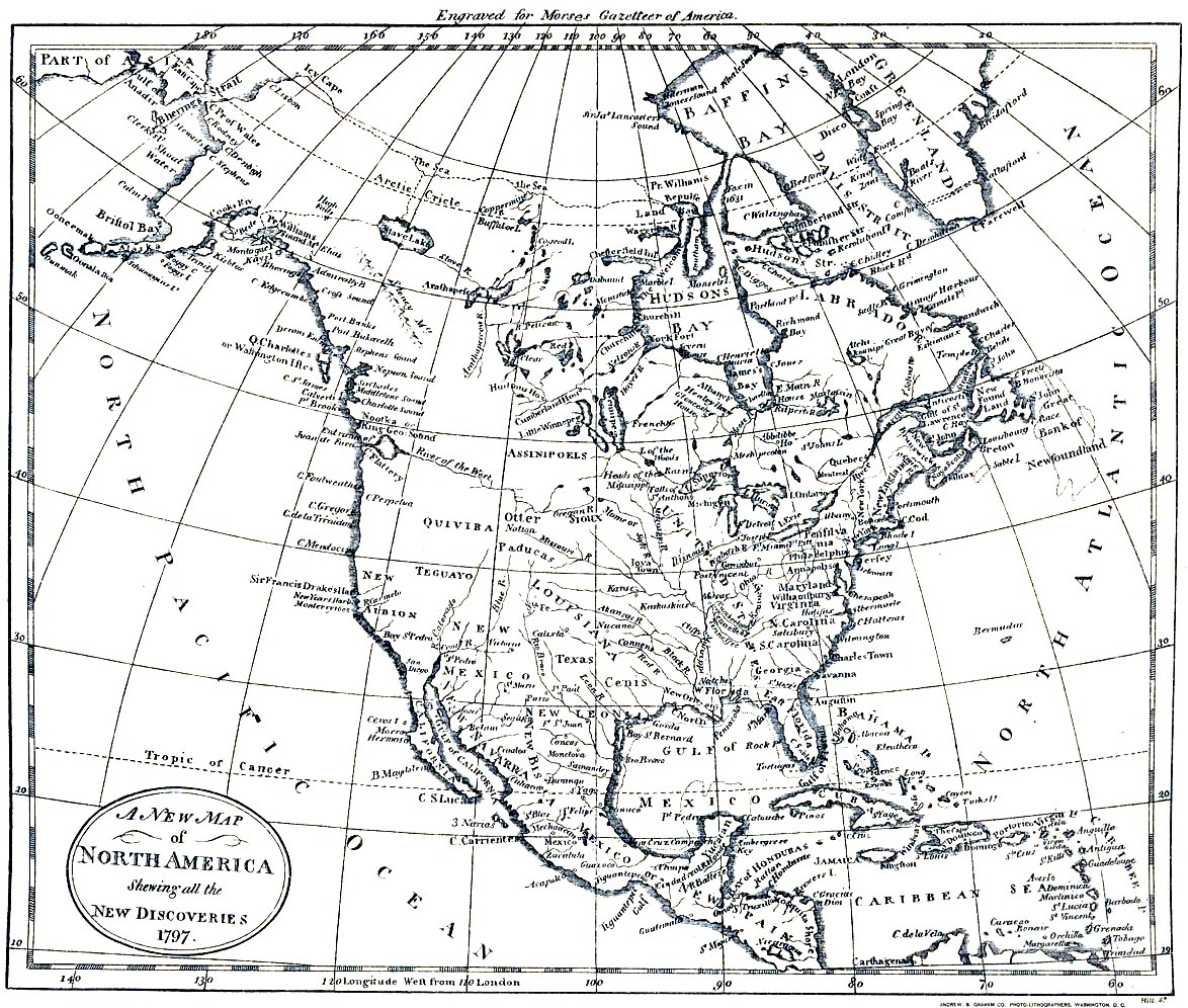 Printable Physical Maps Of North America