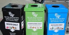 English: San Francisco's Fantastic Three Recyc...