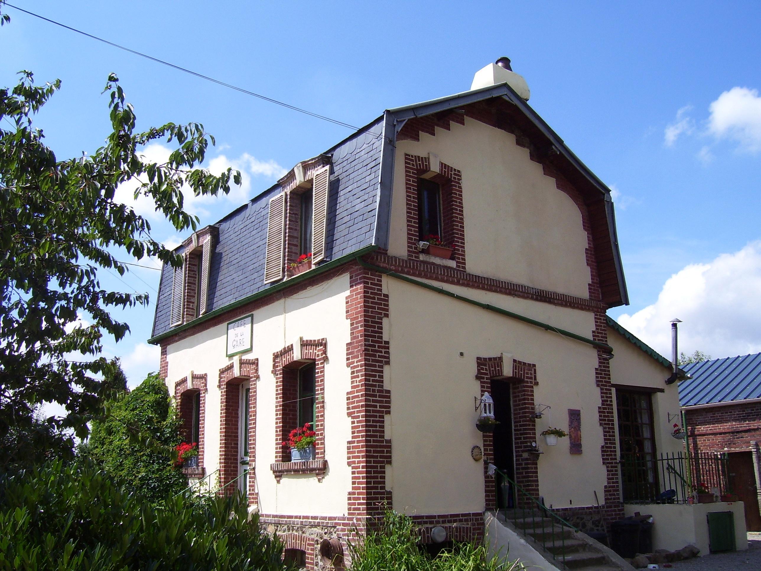 café de la gare la chapelle-gauthier