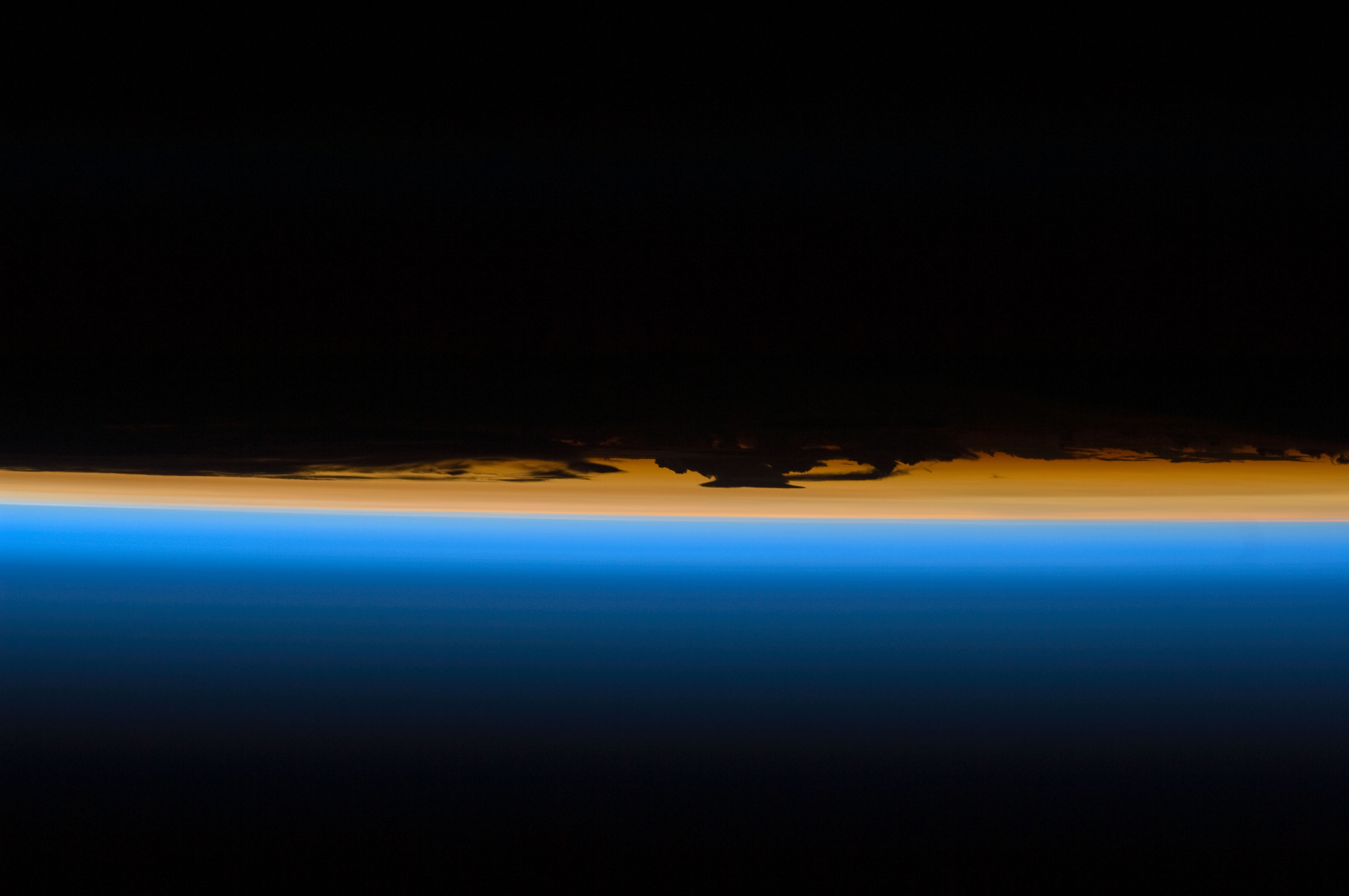 File Layers Of Earth S Atmosphere Brightly Colored As The
