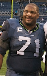 Seattle Seahawks offensive tackle Walter Jones...