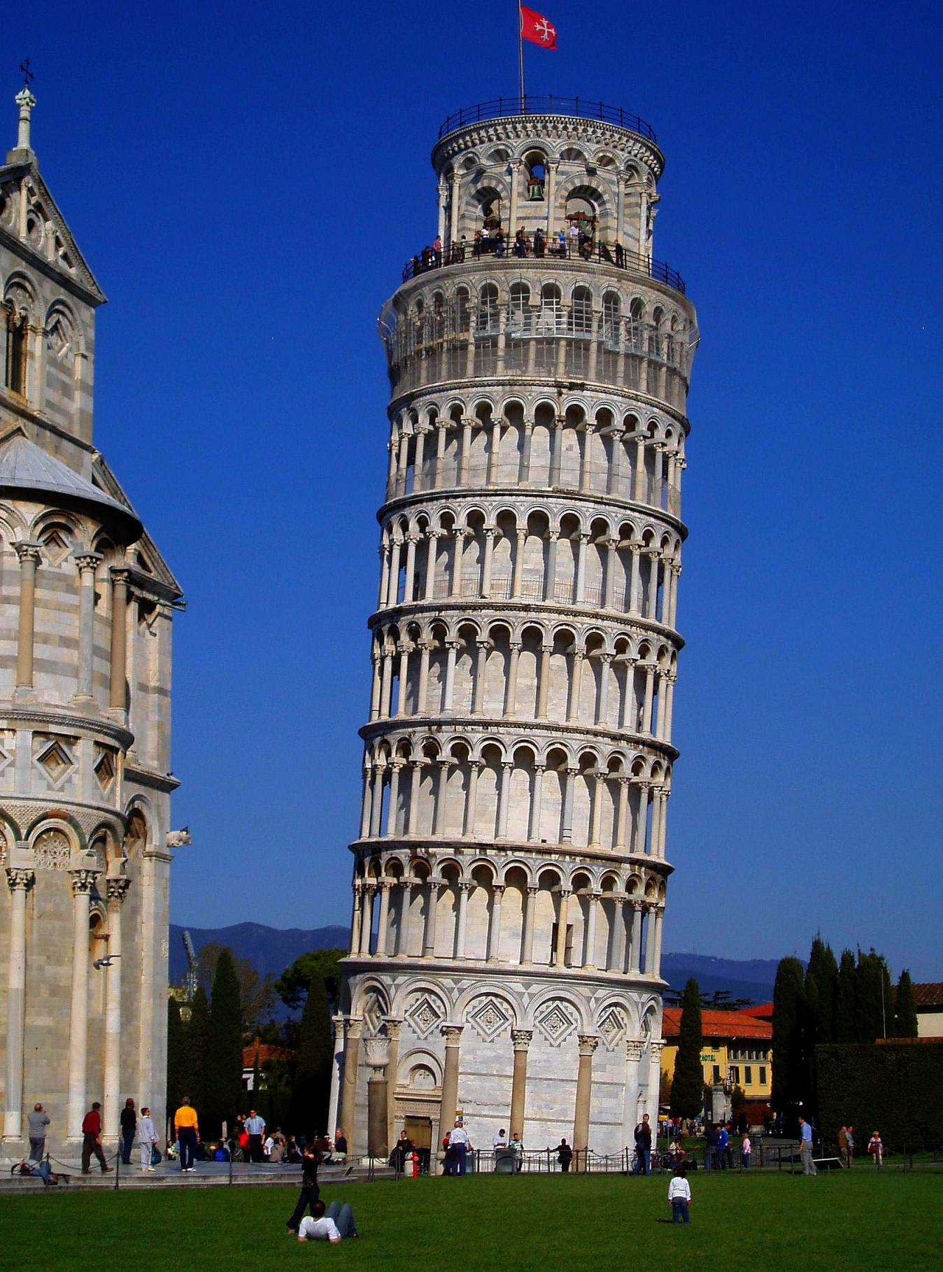 File A Classical View Of Leaning Tower In Pisa
