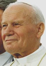 English: Pope John Paul II on 12 August 1993 i...