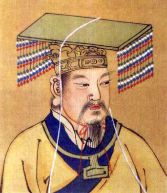 Yellow Emperor,scan from 《社会历史博物馆》 ISBN 7-5347...