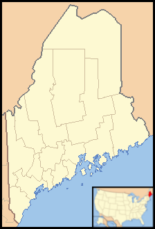 Frye Island, Maine is located in Maine