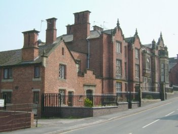 The Old Grammar School. circa 1843 now in use as apartments
