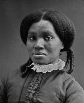English: Unidentified African American woman w...