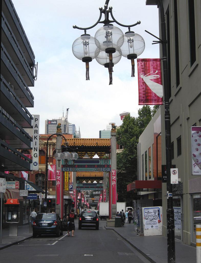 Chinatown, par l'ouest