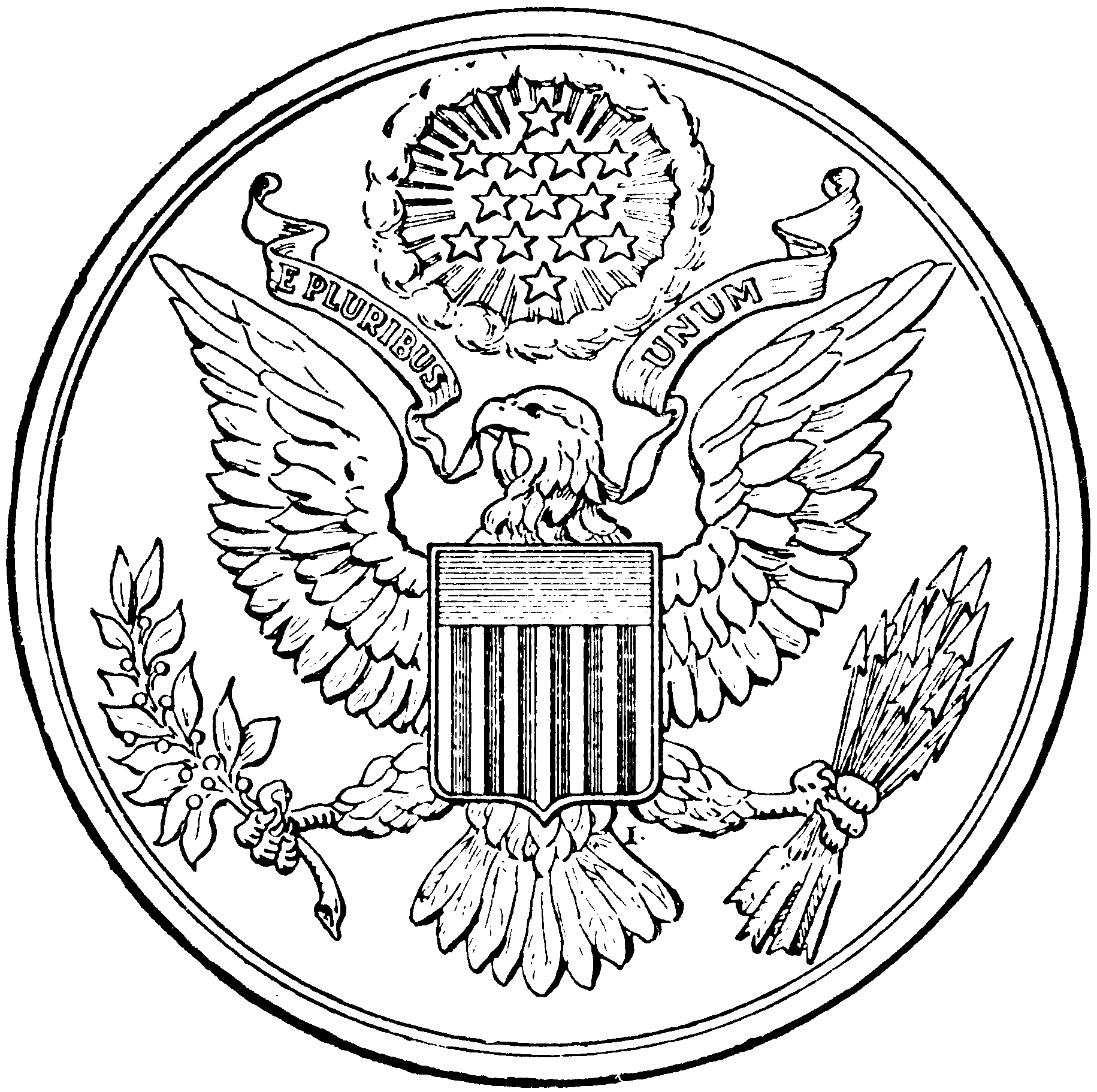 File First Great Seal Of The Us Bah P257