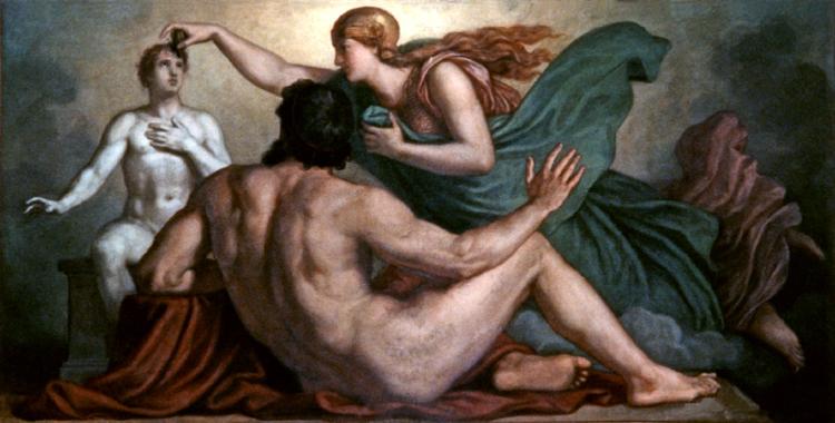 File:Griepenkerl, Beseelung der menschlichen Tonfigur durch Athena.jpg