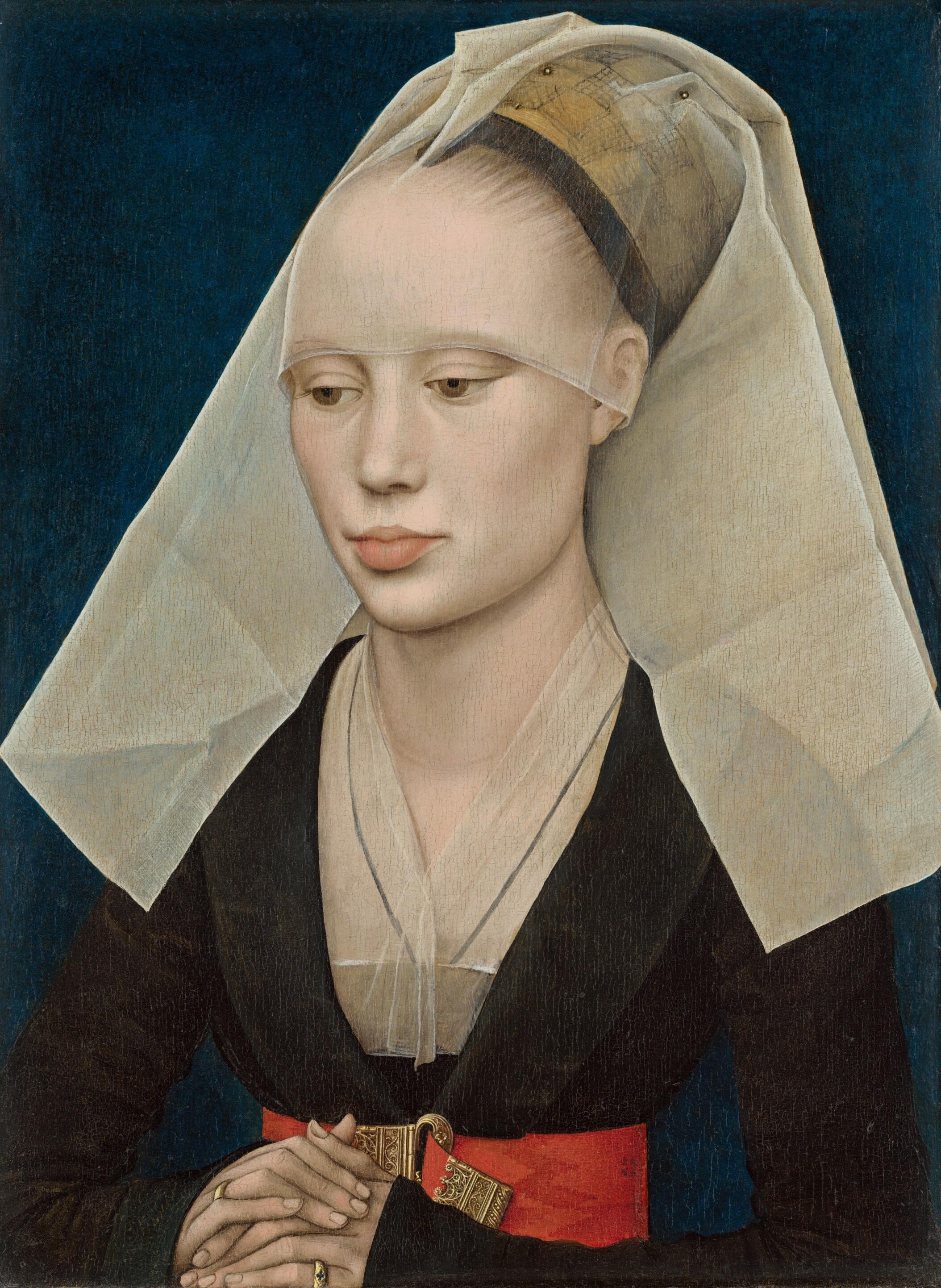 English: Rogier van der Weyden. Portrait of a ...