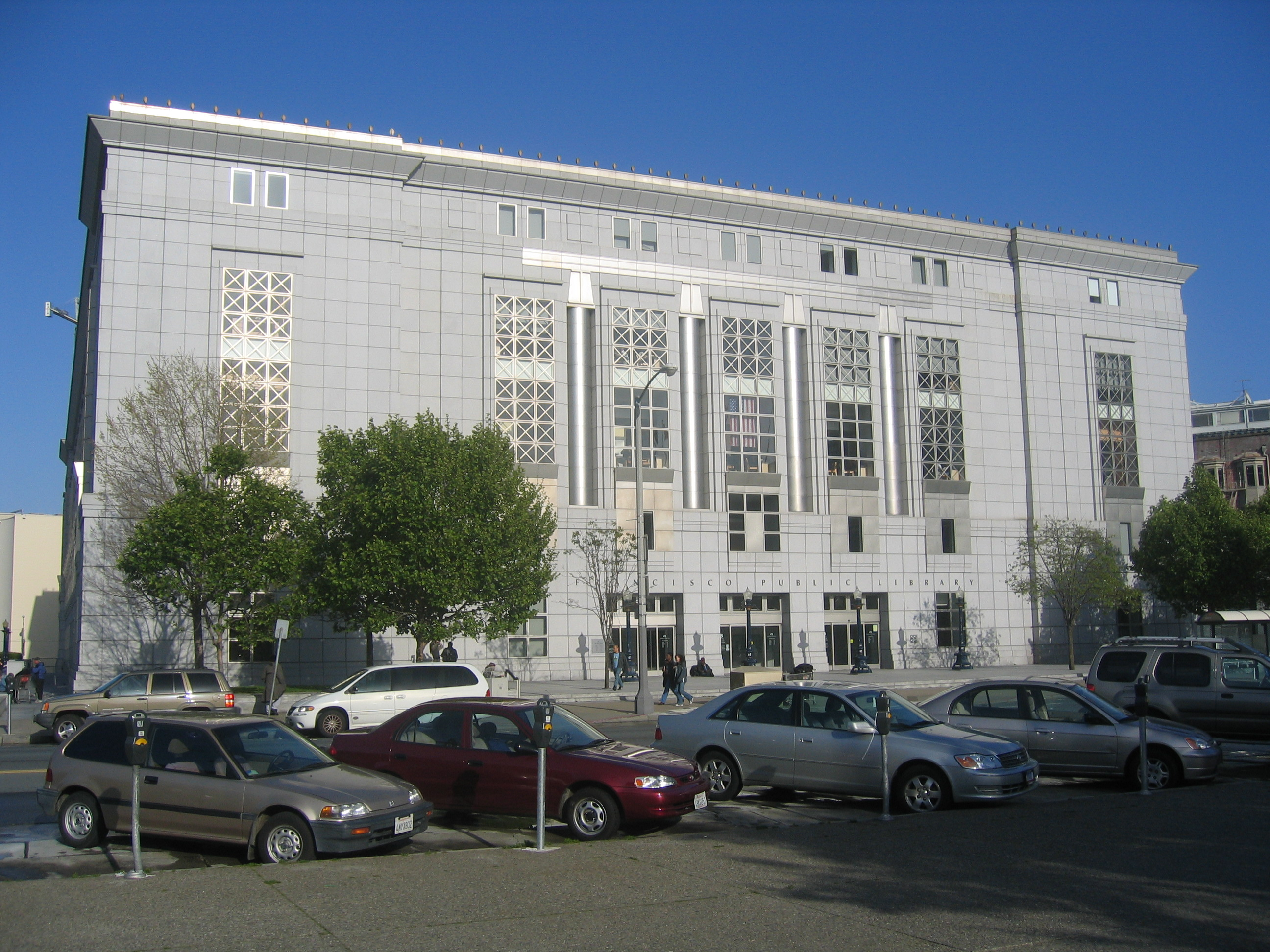 SF Main Public Library Facade (by Alexander Marks)