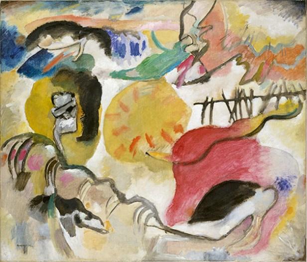 Vassily Kandinsky, 1912 - Improvisation 27, Garden of Love II