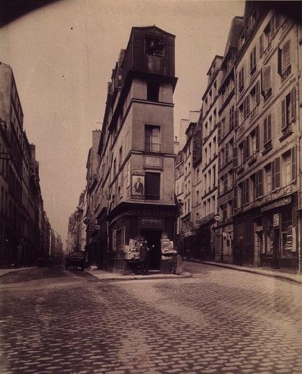 Eugène Atget, Rue de Cléry und rue d'Aboukir, Paris 2nd arr.