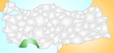 collocazione geografica dell'Isauria