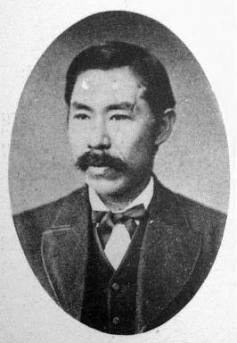a Japanese man 新島襄 (Jo Niijima)