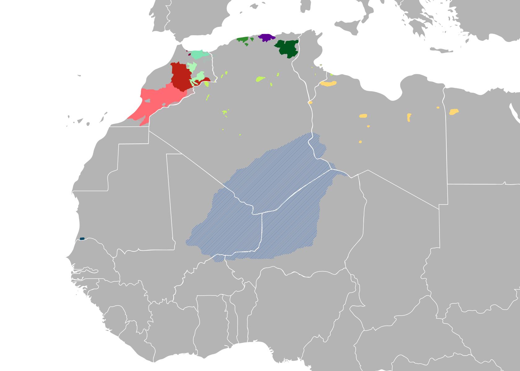لغات أمازيغية ويكيبيديا