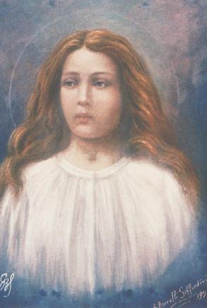 English: Painting of Maria Goretti.